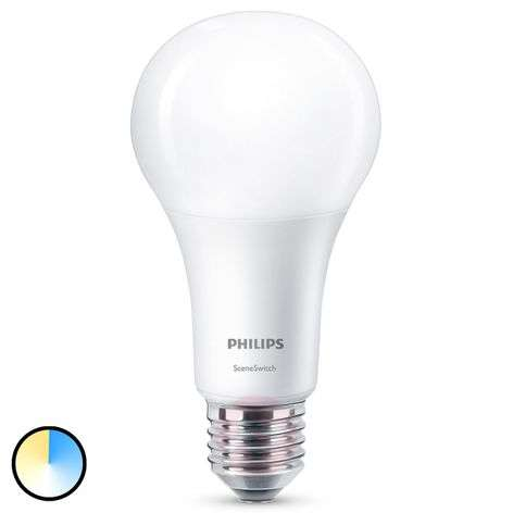 Philips SceneSwitch E27 ampoule LED 14 W mate