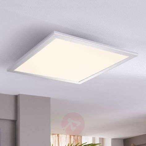 Plafonnier LED carré Liv, 28 W