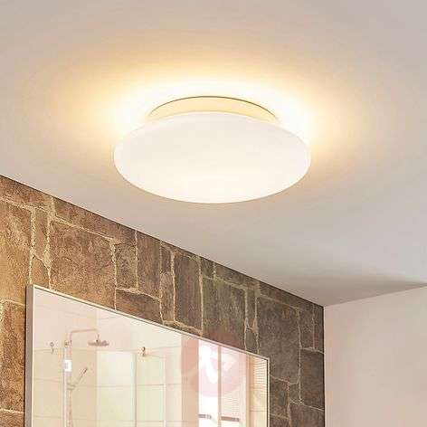 Plafonnier LED de verre Toan rond, IP44 dimmable
