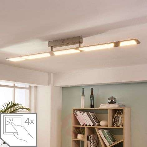 Plafonnier LED dimmable Stephanie, 5 lampes