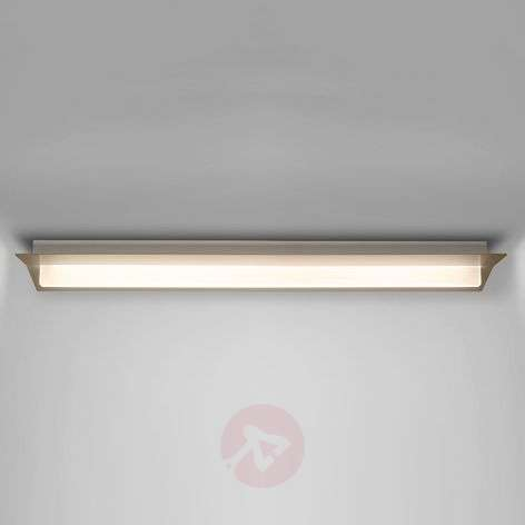 Plafonnier LED Flurry, 100 cm, bronze