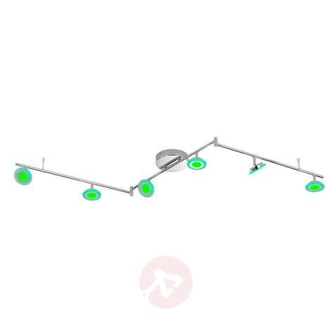 Plafonnier LED fonctionnel Gemma - 6 lampes