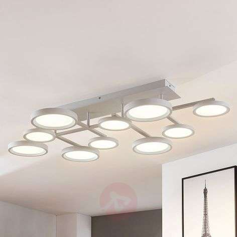 Plafonnier LED Marnia dimmable à 9lampes