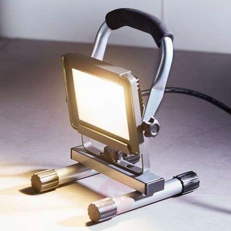 Projecteur de chantier LED Luxo IP65 10 W 800 lm