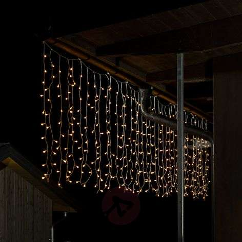 Rideau lumineux micro d'ext. LED, 400 lampes
