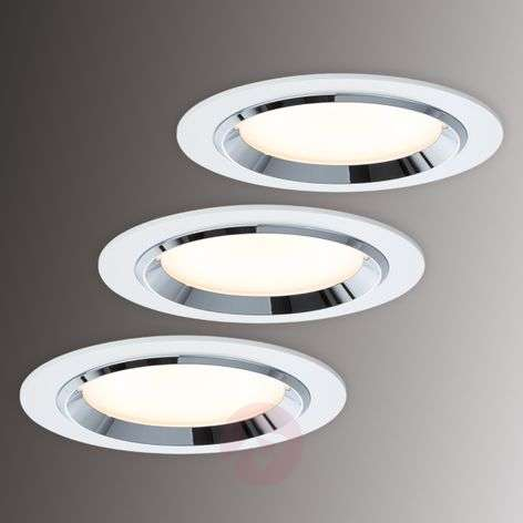 Set de 3 spots LED encastrables Premium Line Dot-7600694-31