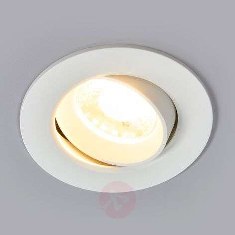Spot encastrable LED blanc Quentin, 9 W