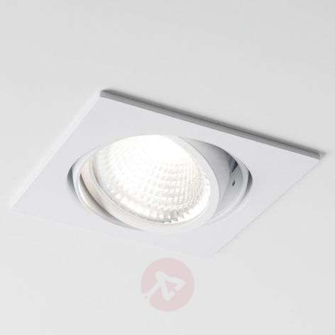 Spot encastré LED Now 2 Square blanc medium