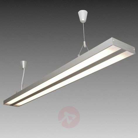 suspension air light tube fluo 119 cm blanc chaud. Black Bedroom Furniture Sets. Home Design Ideas