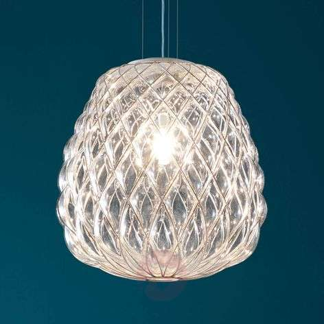 Suspension de designer en verre Pinecone