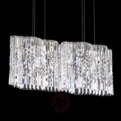 Suspension en cristal Selene avec LED