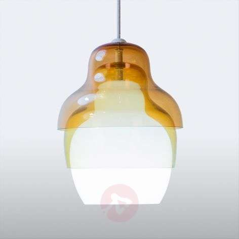 Suspension Innermost Matrioshka jaune blanc