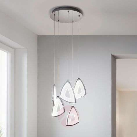 Suspension LED Amonde de forme futuriste
