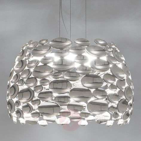 Suspension LED couleur nickel Anish