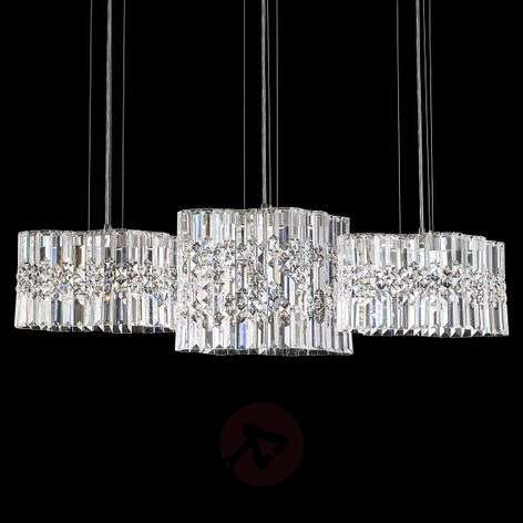 Suspension LED Selene avec cristaux Swarovski