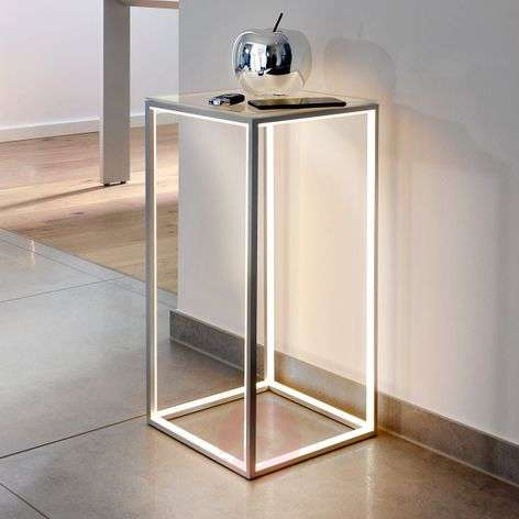 Table d'appoint lumineuse Delux 60 cm