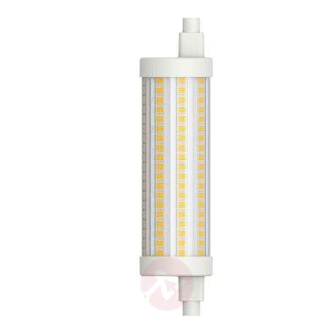 Tube LED R7s 117,6 mm 15W blanc chaud