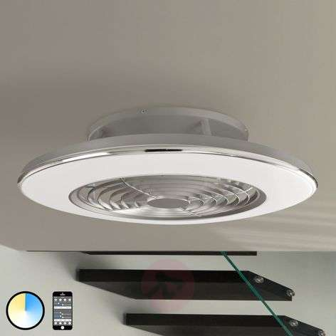 Ventilateur de plafond LED Alisio, application