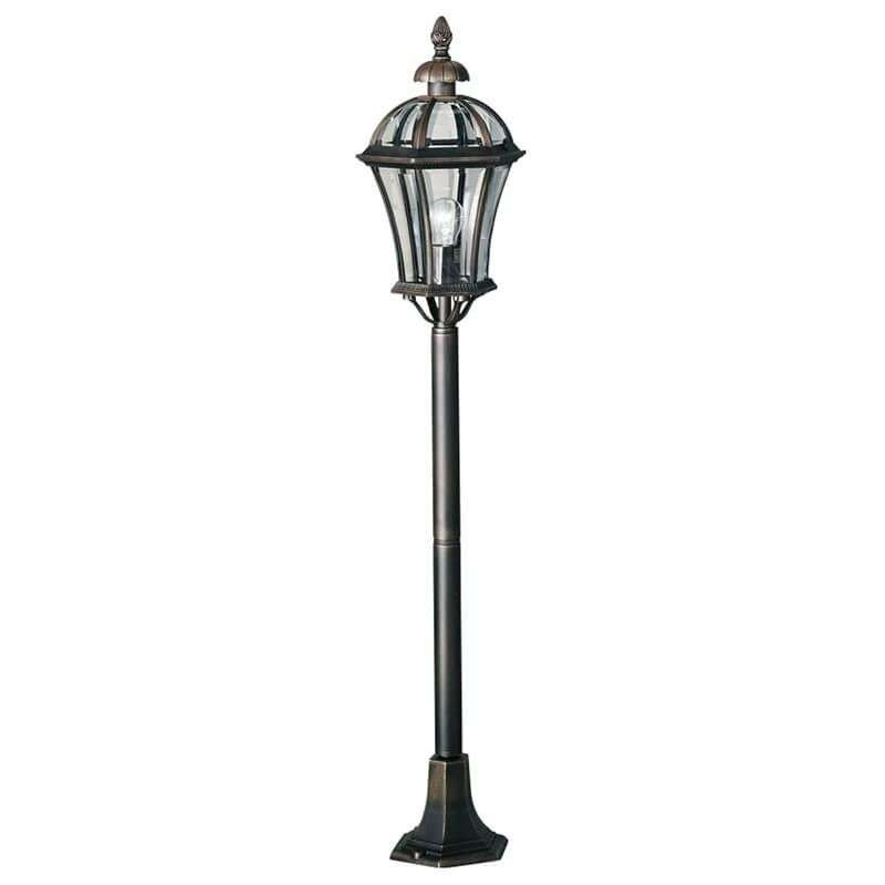 Borne lumineuse traditionnelle Westminster rouille-5560294-31