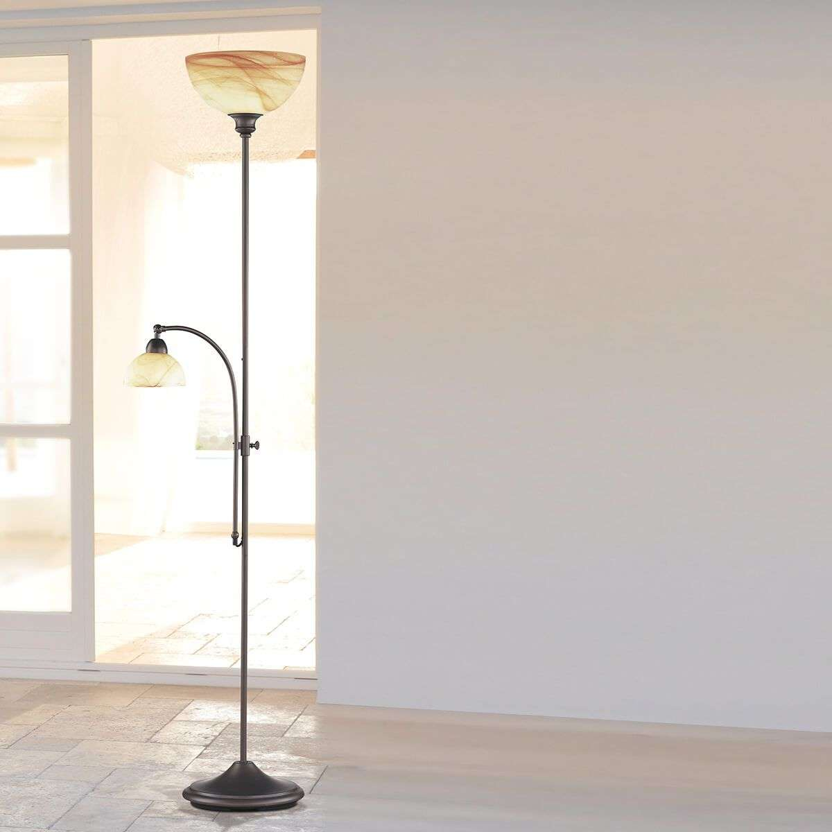 lampadaire lacchino avec variateur pied. Black Bedroom Furniture Sets. Home Design Ideas