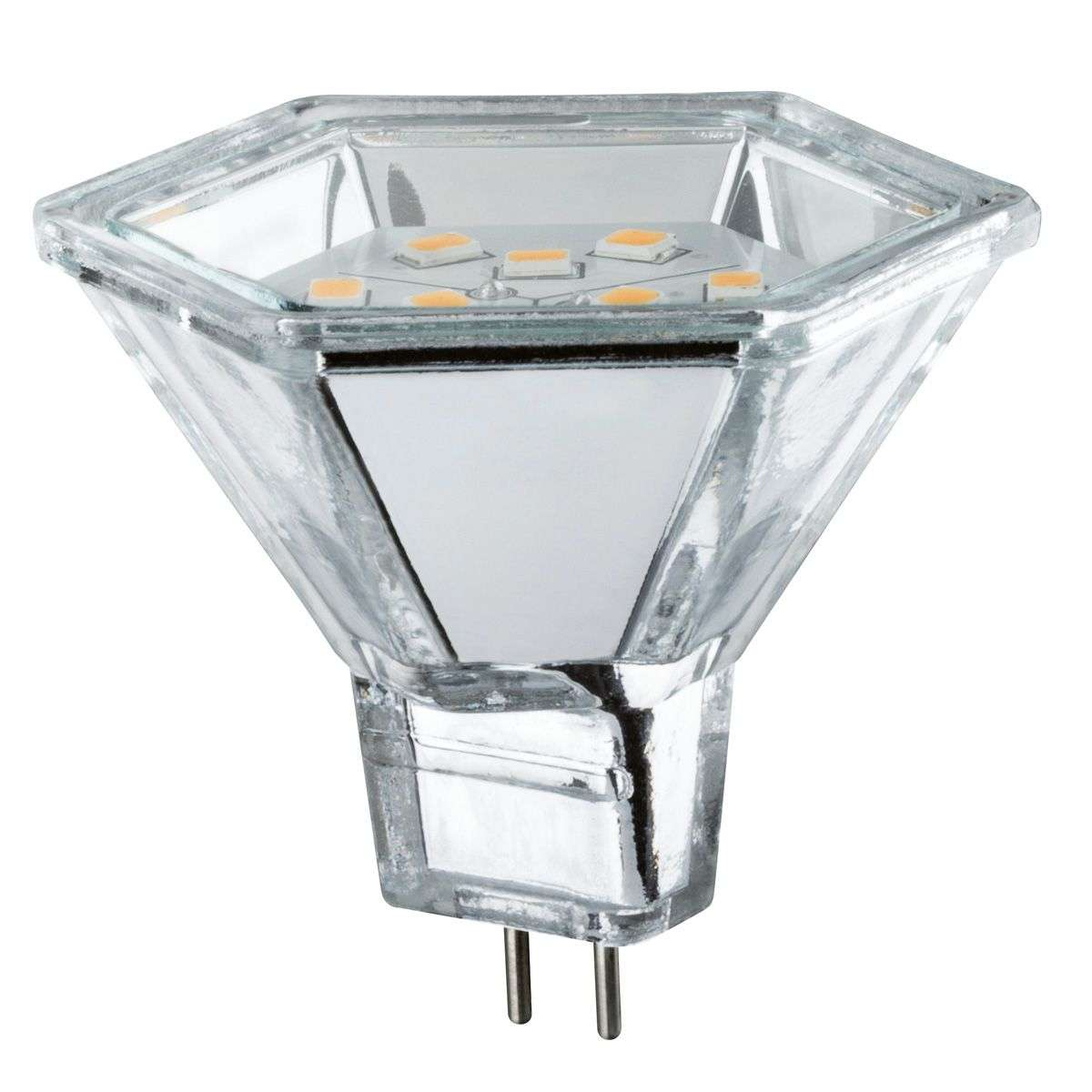 LED à réflecteur GU5,3 MR16 2W 827 Diamond Hexa-7600698-32