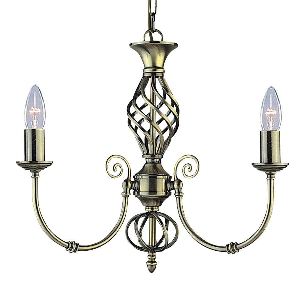 lustre classique zanzibar 3 lampes laiton ancien. Black Bedroom Furniture Sets. Home Design Ideas