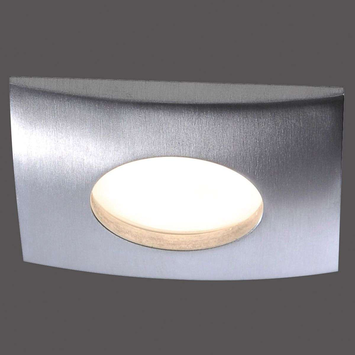 Plafonnier encastr. LED dimmable Lumeco, angulaire-7610404-31