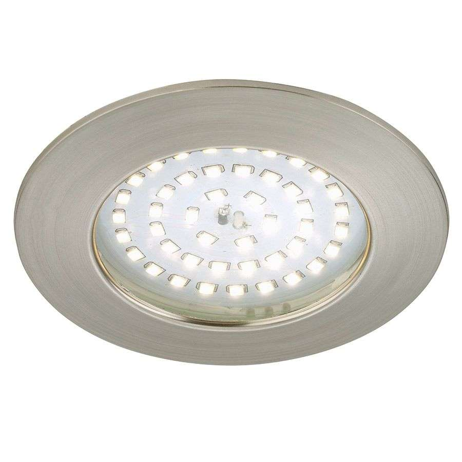 Spot encastré LED Carl pour l'ext., nickel mat-1510337-31