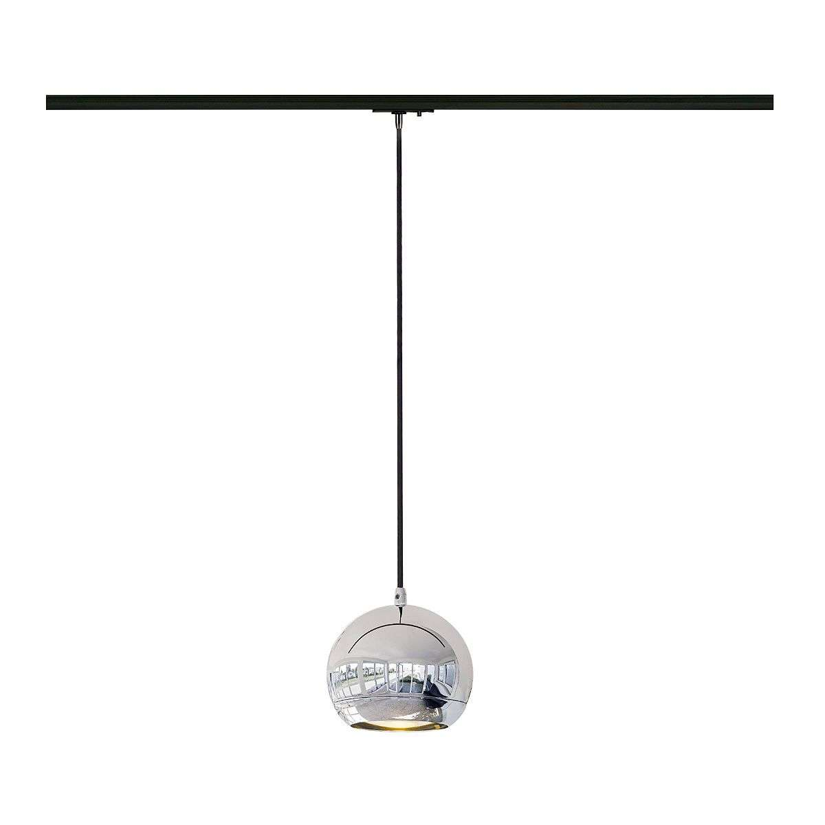 suspension chrom e light eye pour rails. Black Bedroom Furniture Sets. Home Design Ideas