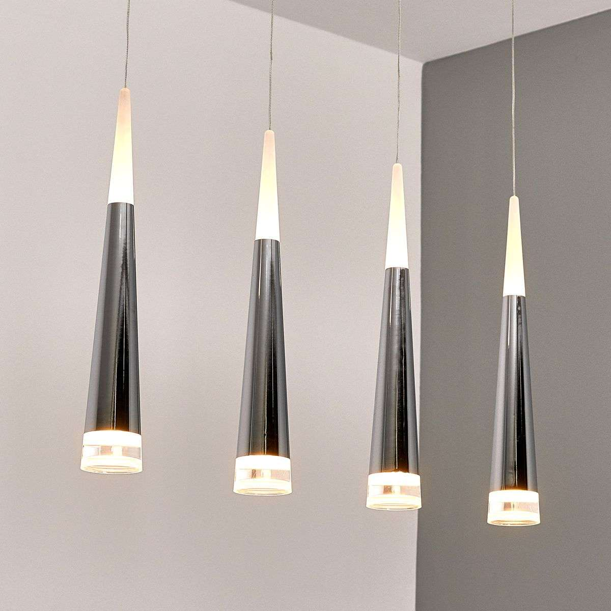 Suspension LED à quatre lampes Janne-9987052-36