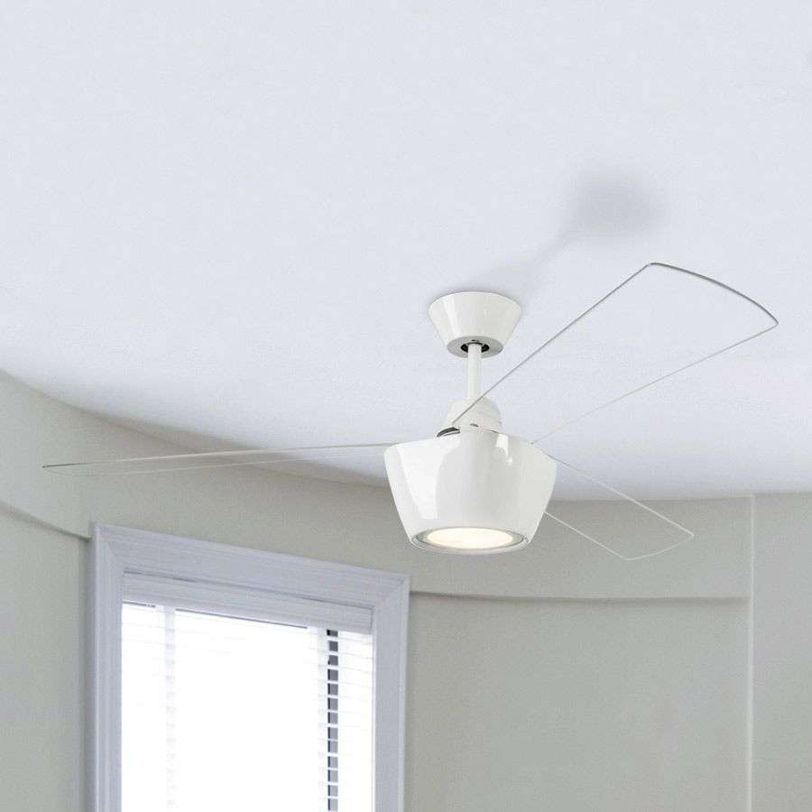 Ventilateur de plafond ceos design moderne led for Plafond moderne design