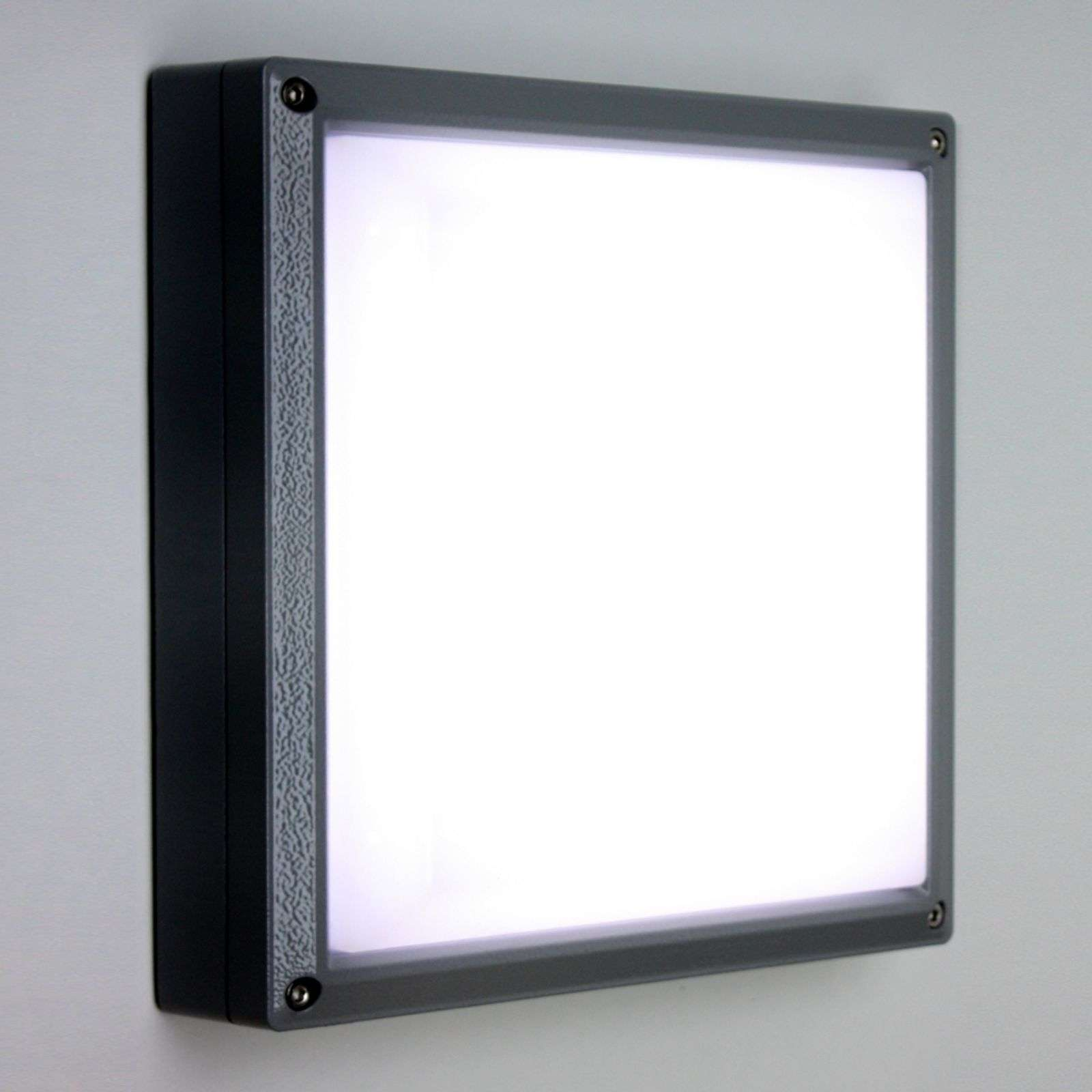 Applique SUN 11 LED 13W anthracite 4 k
