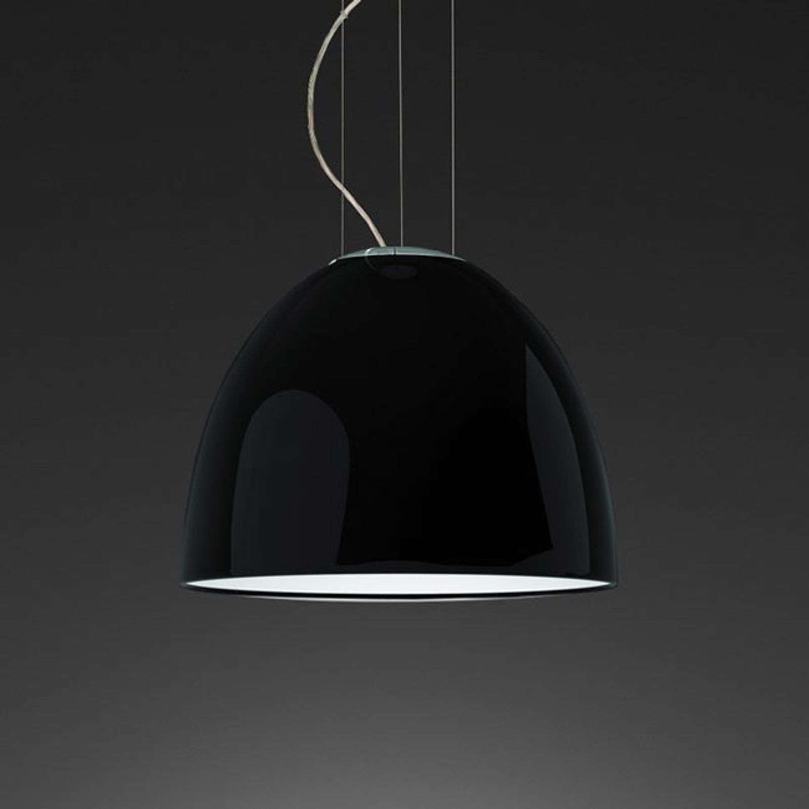 Petite suspension LED de designer Nur Gloss Mini