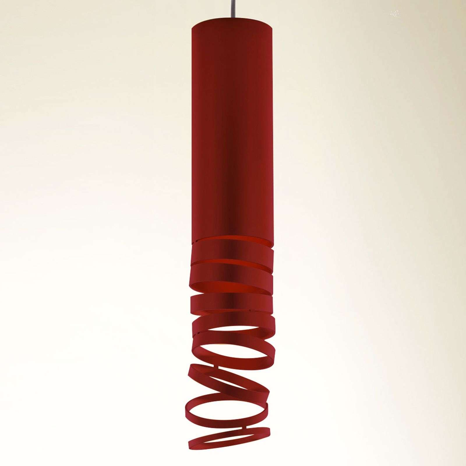 Artemide Décomposé suspension rouge