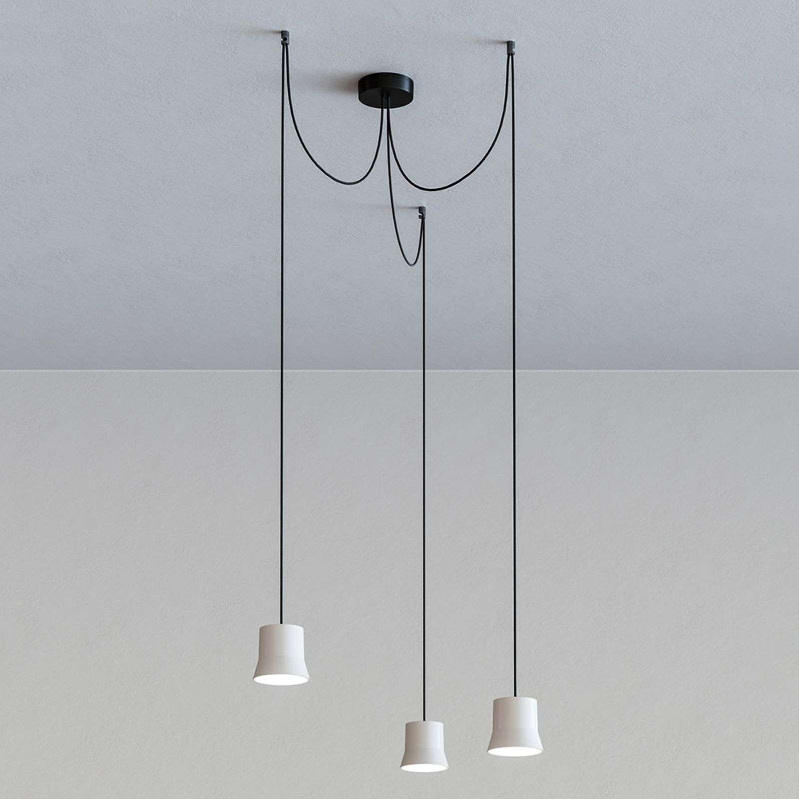Artemide GIO.light Cluster suspension, blanc