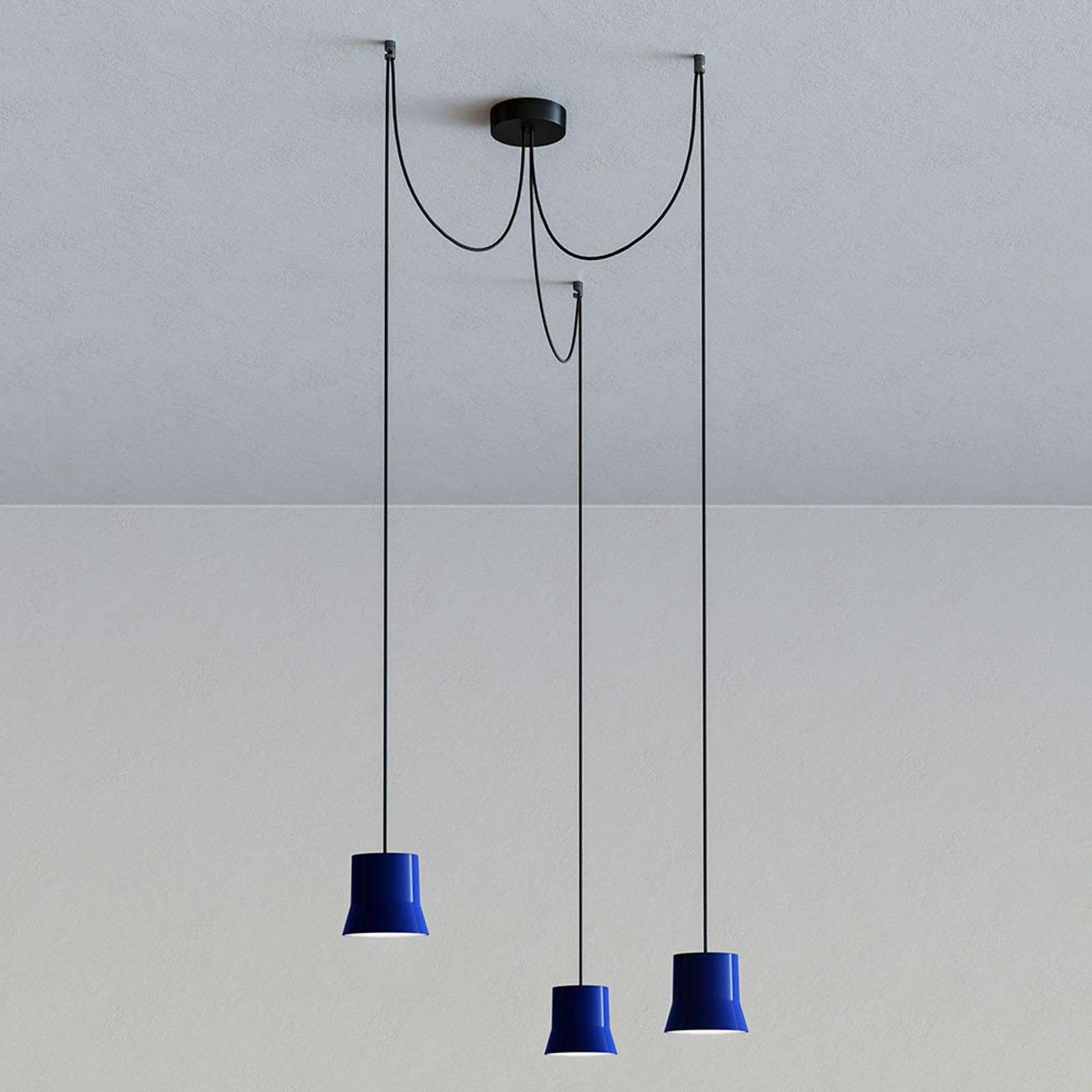 Artemide GIO.light Cluster suspension, bleu