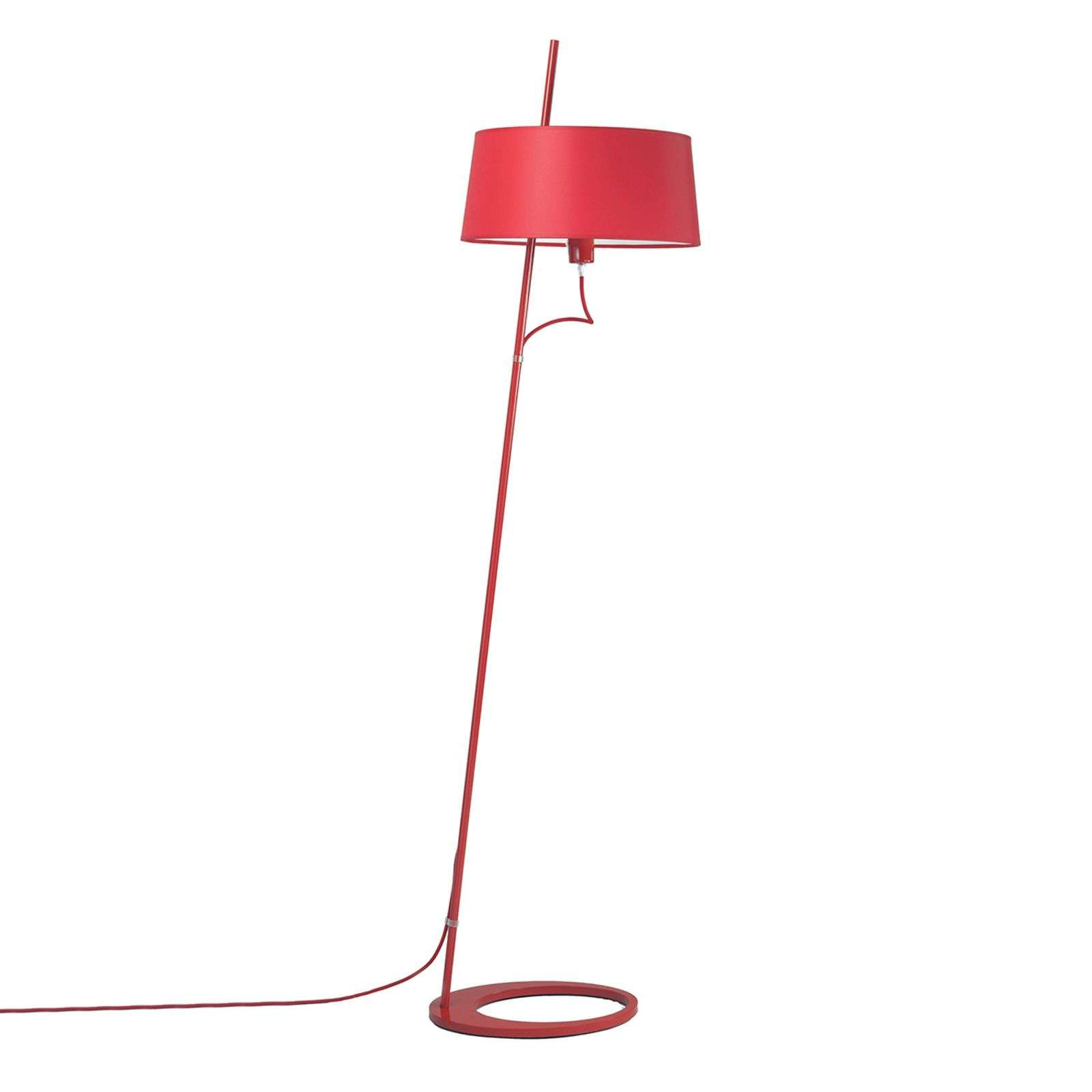 Lampadaire Bolight en rouge