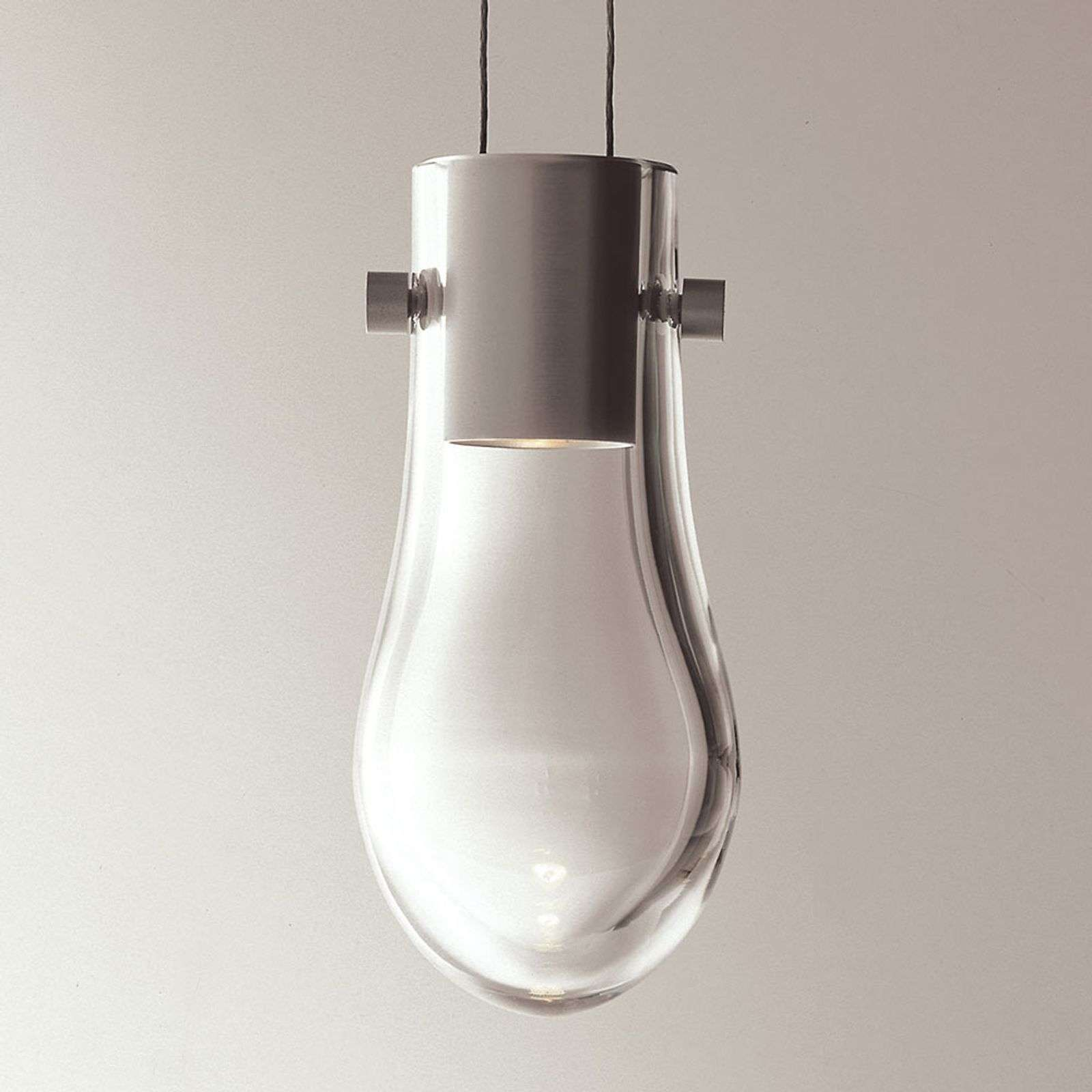 Suspension LED de designer Drop à hauteur réglable