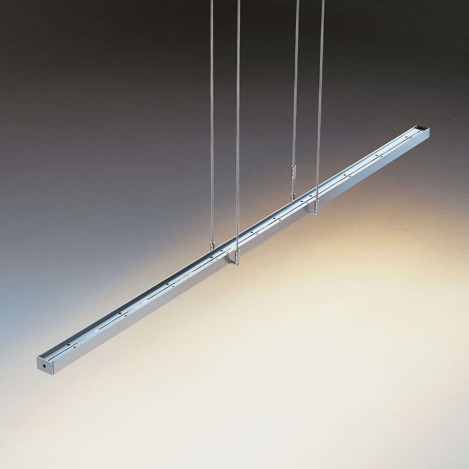 Suspension LED Tieso Tender, chromée mate