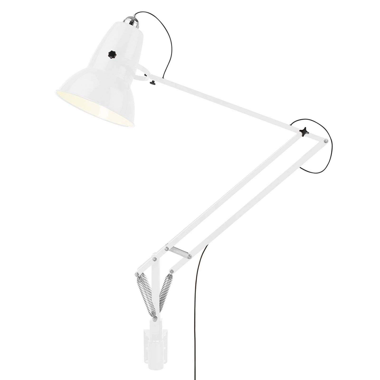 Anglepoise Original 1227 Giant applique blanche