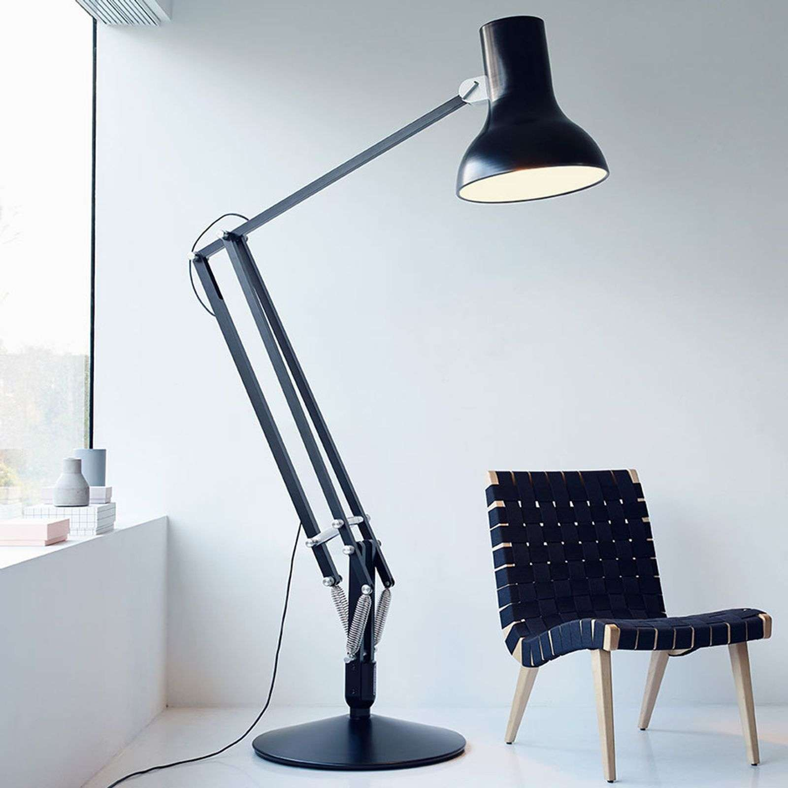 Anglepoise Type 75 Giant lampadaire noir