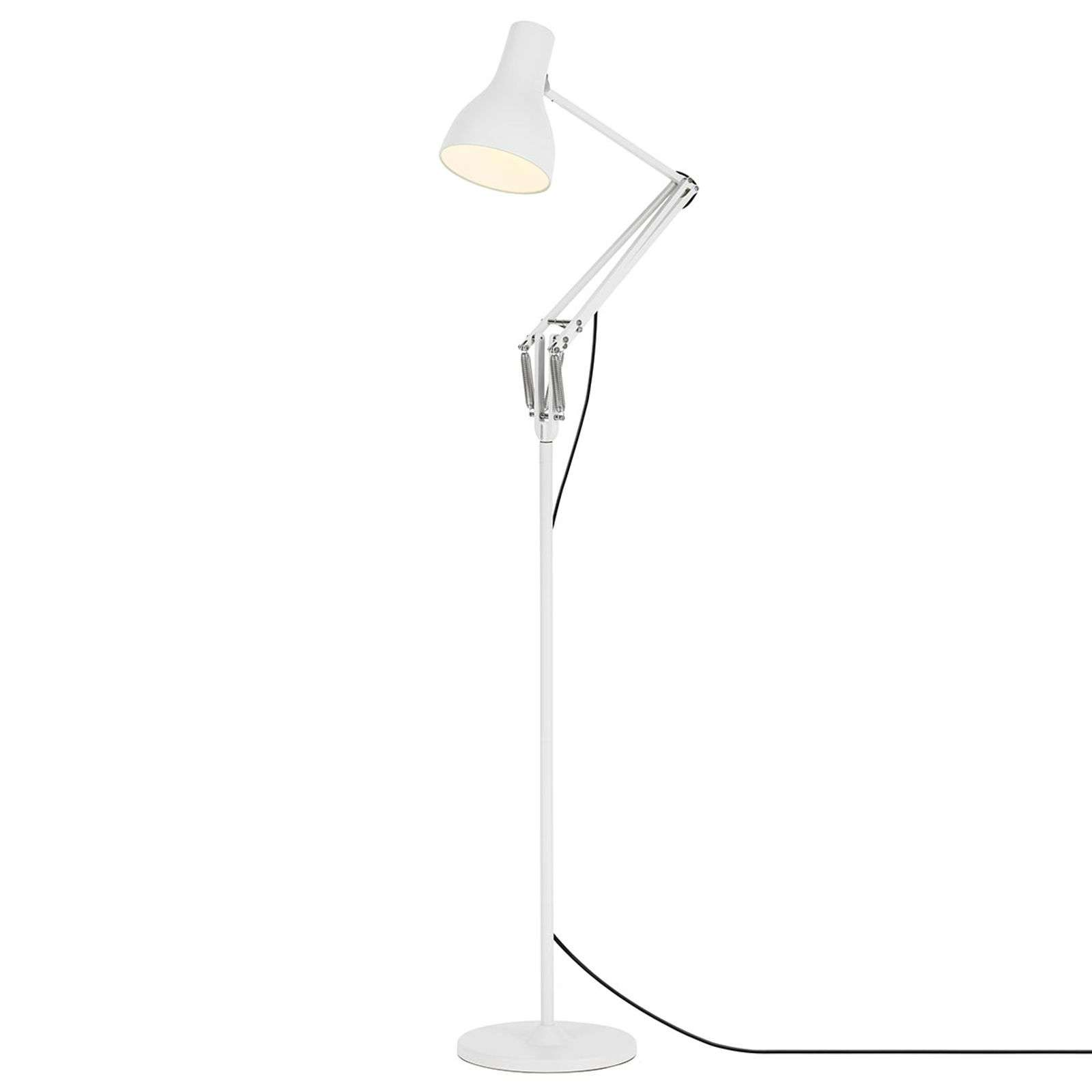 Anglepoise Type 75 lampadaire blanc alpin