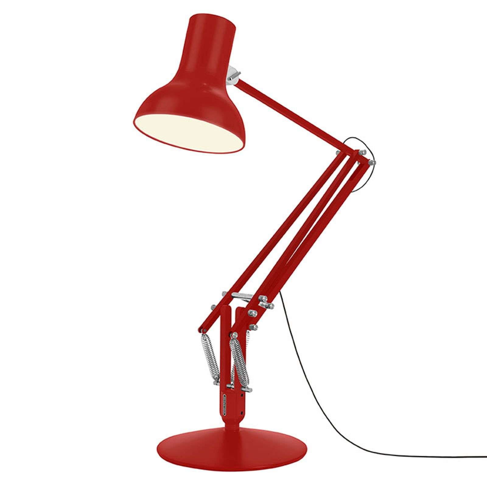 Anglepoise Type 75 Giant lampadaire rouge