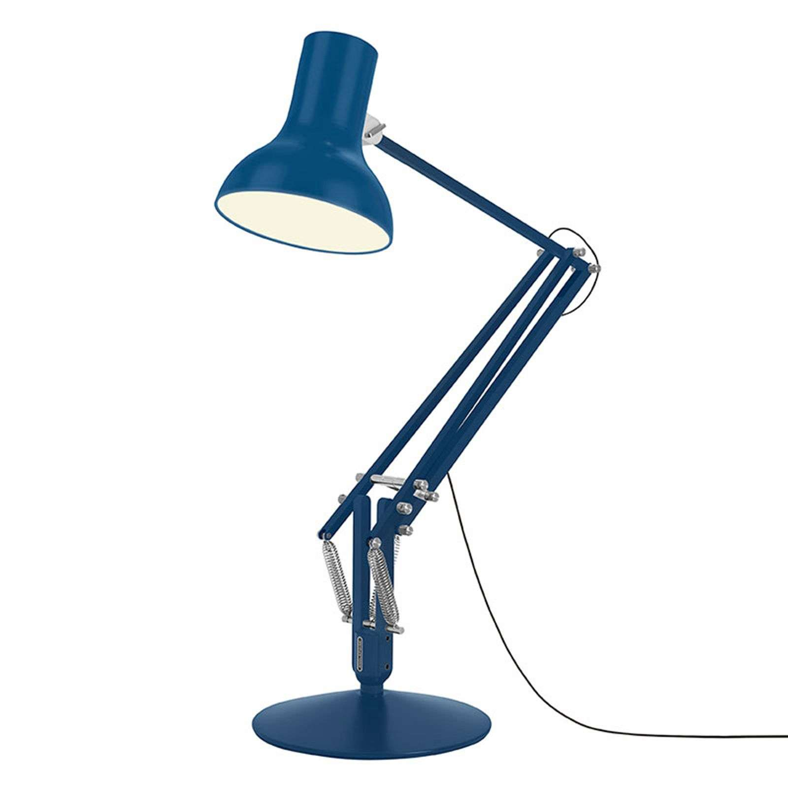 Anglepoise Type 75 Giant lampadaire bleu