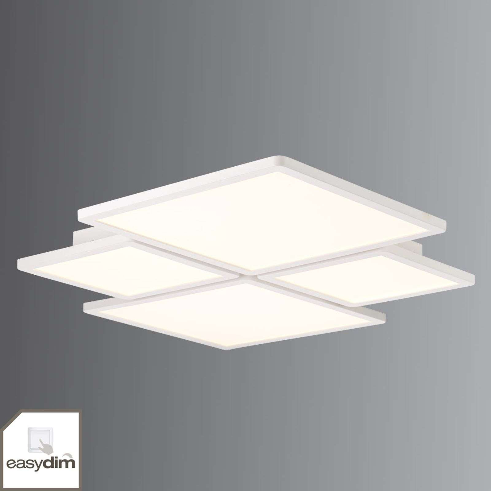 Plafonnier LED Easydim à quatre lampes Scope