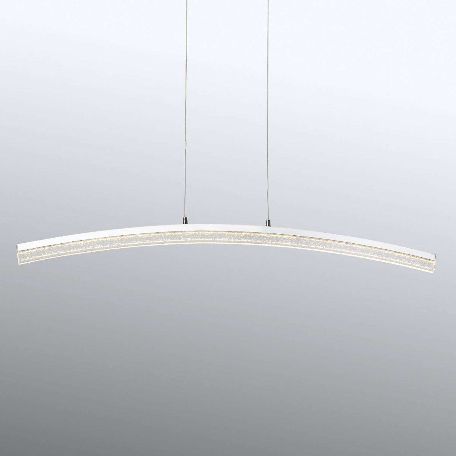 Suspension LED chromée Sparkling