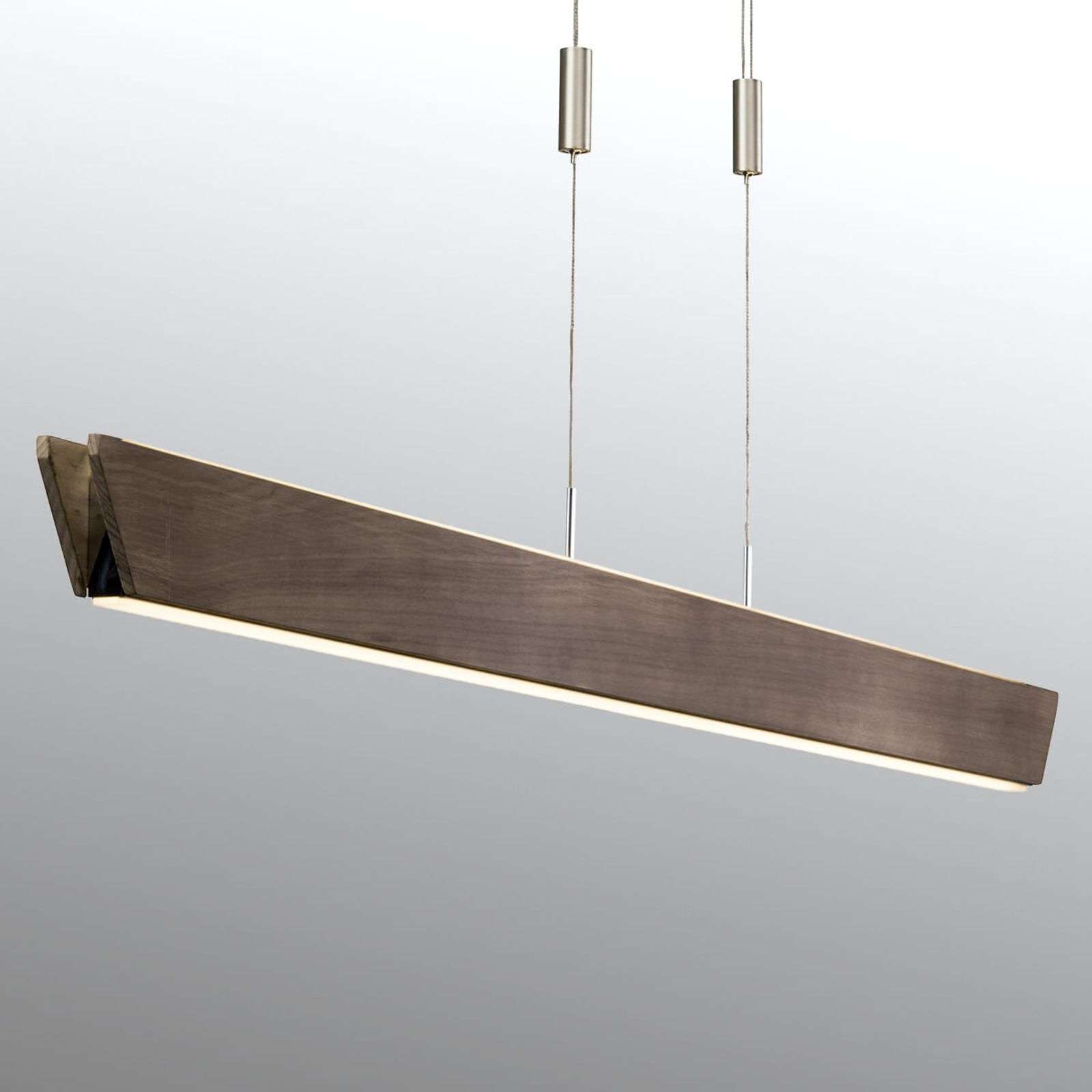Suspension LED Unique, 130 cm, hauteur réglable