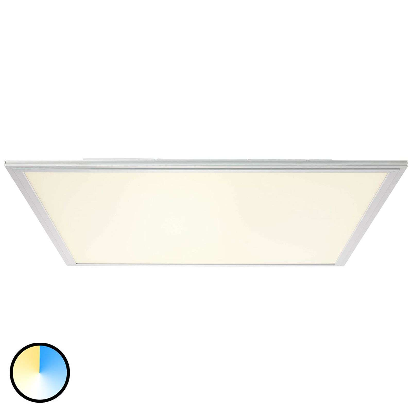 Plafonnier LED Flat brillant WiZ - 60 cm