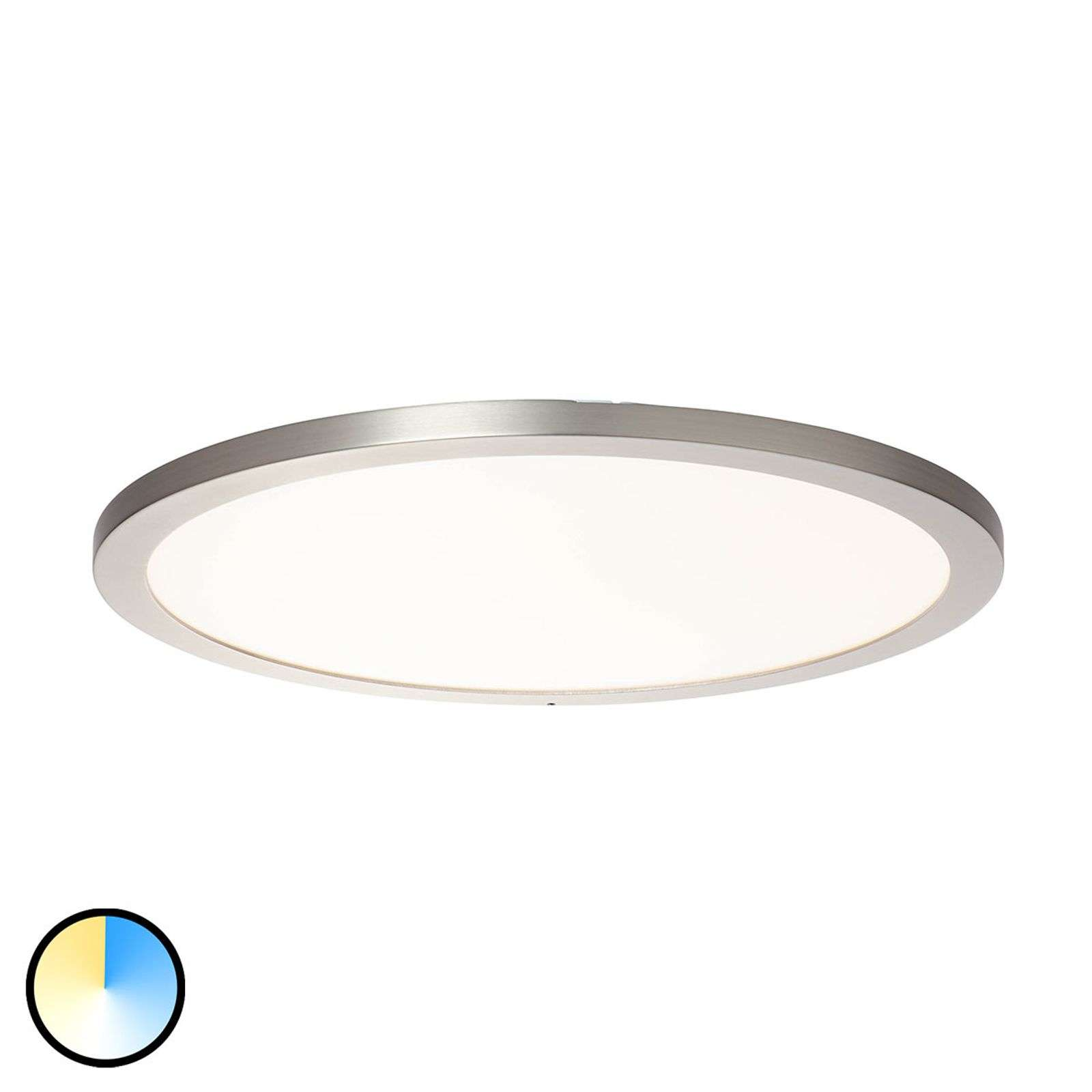 Plafonnier LED Smooth brillant WiZ - Ø 50 cm
