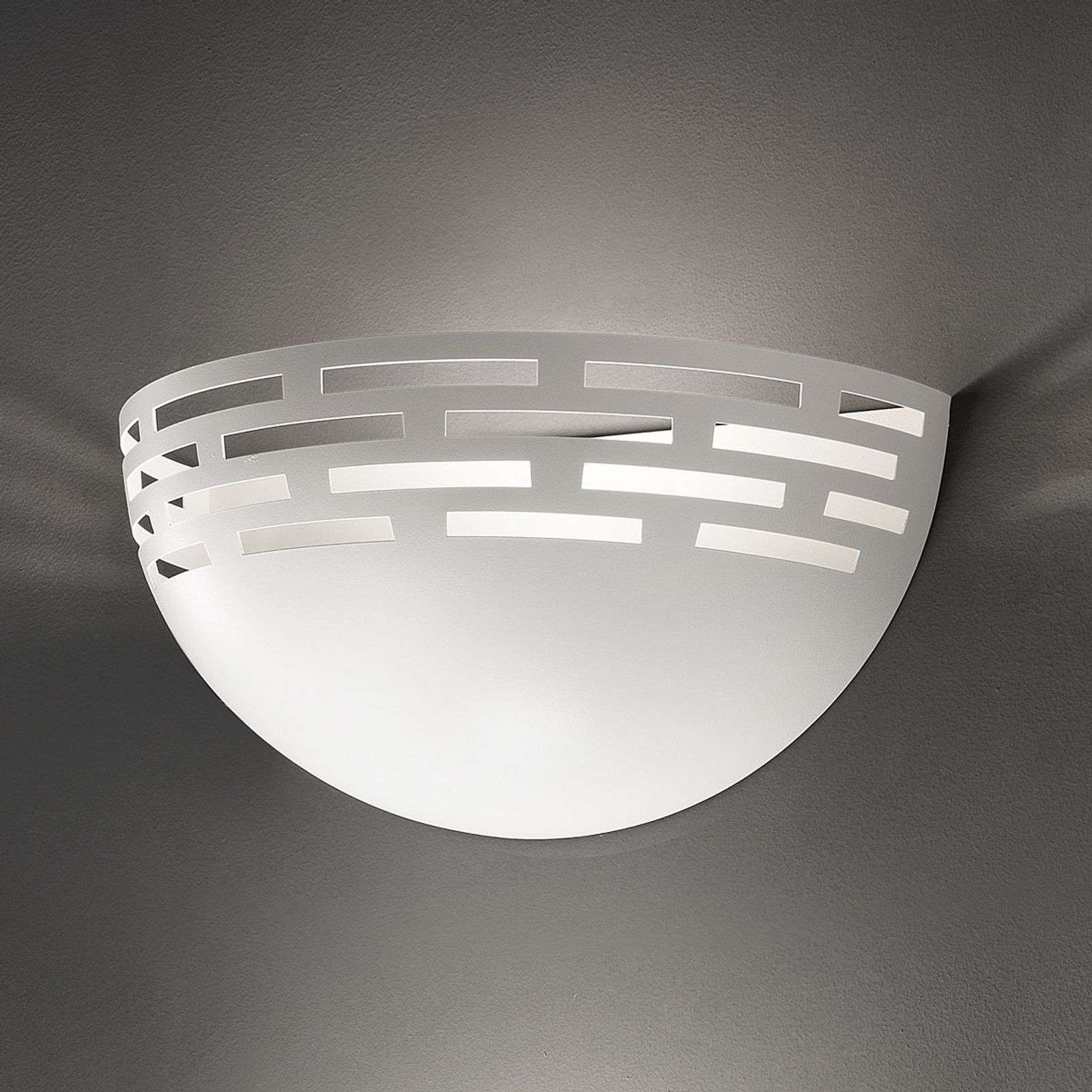 Belle applique LED Greka en blanc
